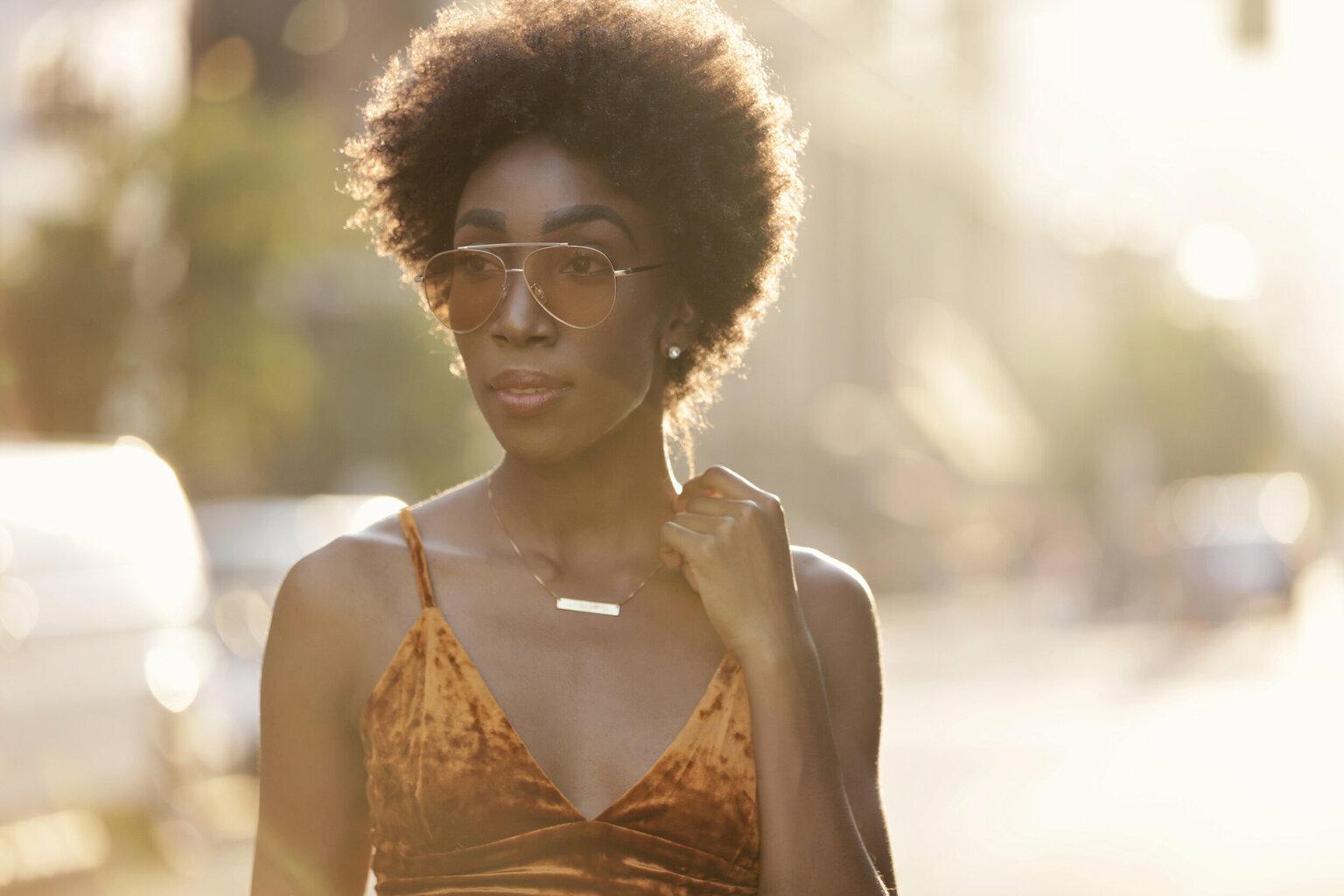 Tiffany Williams: Glam Model Off Duty Style