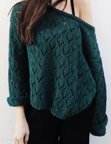 XXL Pullovers können auch stylisch sein
