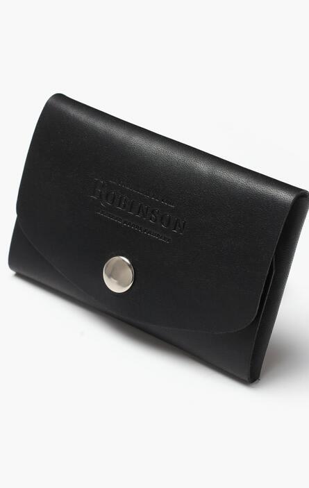 Schwarze Leder Geldbörse